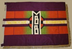 Vlag MBB gerestaureerd door Doortje Lucassen SHCL
