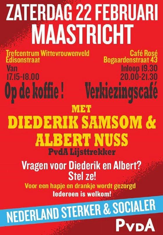 Diederik Samsom in Maastricht
